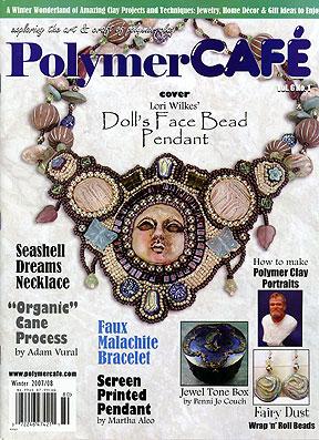polymer clay faux malachite